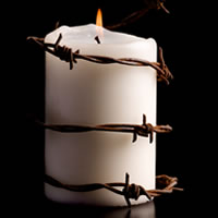 Barbed Candle